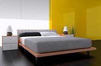 Betten aus Holz