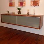 Holz-Glas Kasten